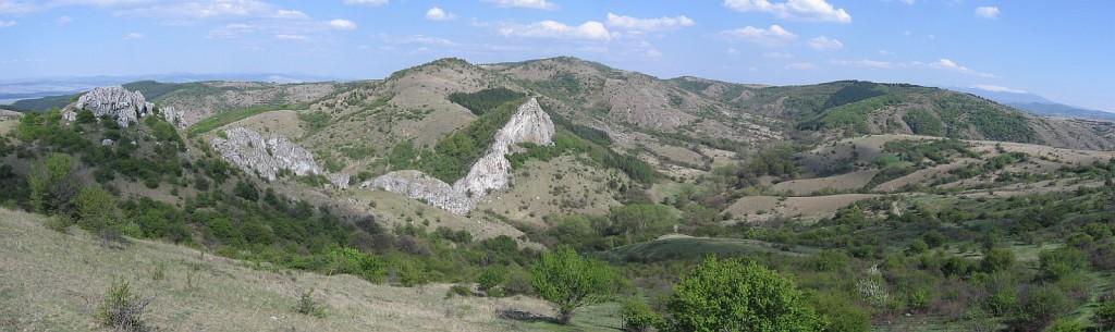 Местност Петлюка - панорама (bgmountains.org)